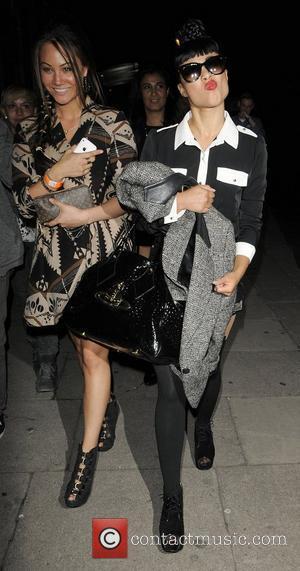 Singer Natalia Kills leaving Kings College on the Strand London, England - 13.06.11