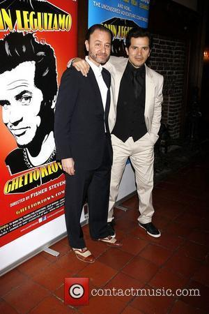 Fisher Stevens and John Leguizamo at the opening night of the Broadway premiere of 'Ghetto Klown' at the Lyceum Theatre...