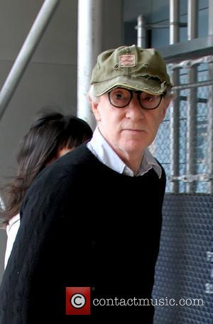 Woody Allen Celebrities at the NBA playoffs game 4, New York Knicks vs Boston Celtics - Arrivals New York City,...