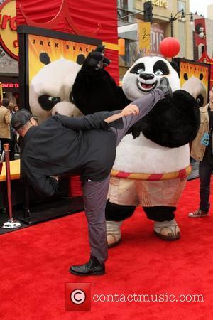 Jean-Claude Van Damme Los Angeles premiere of 'Kung Fu Panda 2' held at Grauman's Chinese Theatre Los Angeles, California -...
