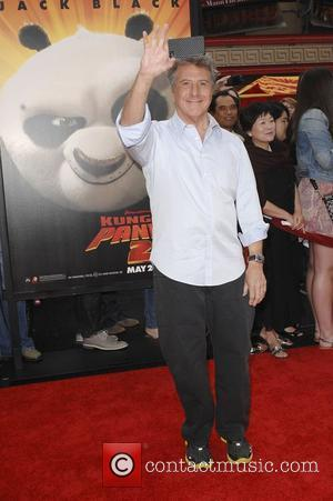Dustin Hoffman  Los Angeles premiere of 'Kung Fu Panda 2' held at Grauman's Chinese Theatre	 Los Angeles, California -...