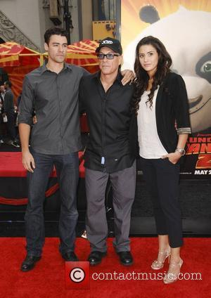 Jean Claude Van Damme  Los Angeles premiere of 'Kung Fu Panda 2' held at Grauman's Chinese Theatre Los Angeles,...