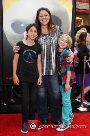 Camryn Manheim and family Los Angeles premiere of 'Kung Fu Panda 2' held at Grauman's Chinese Theatre	 Los Angeles, California...