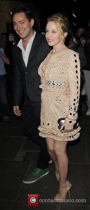 Kylie Minogue and Andres Velencoso