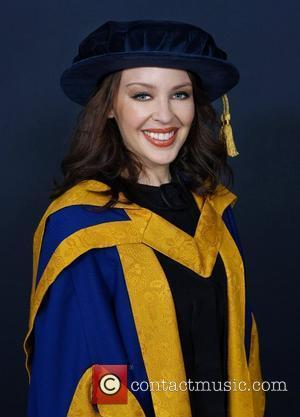 Kylie Minogue Hopes To Inspire With Honorary Doctorate