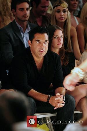 Carlos Gomez attend the L*SPACE BY MONICA WISE show at Mercedes-Benz Fashion Week Swim shows at The Raleigh Miami Beach,...