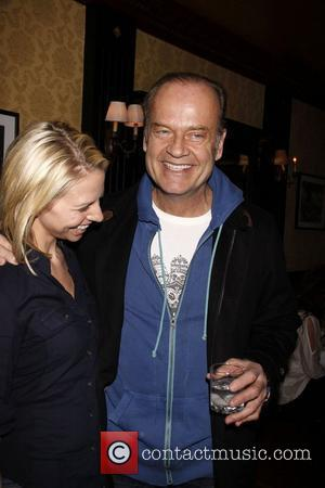 Kayte Walsh and Kelsey Grammer After party celebrating the final performance of Kelsey Grammer and Douglas Hodge in the Broadway...