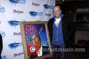 Kelsey Grammer receives a Jim Warren Fame Wall painting  After party celebrating the final performance of Kelsey Grammer and...