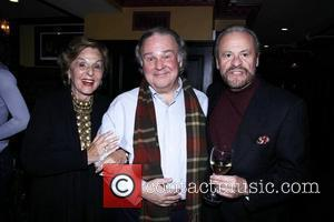 Fran Weissler, Fred Applegate and Barry Weissler After party celebrating the final performance of Kelsey Grammer and Douglas Hodge in...