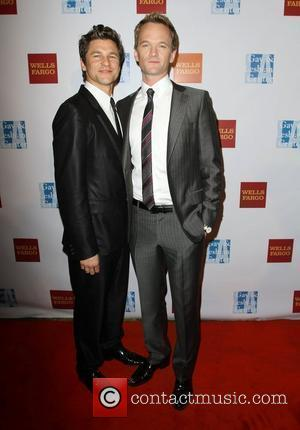 David Burtka and Neil Patrick Harris at the L.A. Gay and Lesbian Center's 40th Anniversary Gala and Auction - Arrivals....