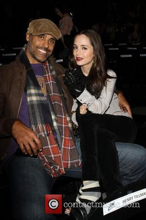 Rick Fox and Eliza Dushku World Series Of Boxing Season 2 - L.A. Matadors VS Astana Arlans - Inside held...
