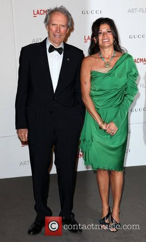 Clint Eastwood and wife LACMA's Art And Film Gala Honoring Clint Eastwood And John Baldessari at LACMA Los Angeles, California...