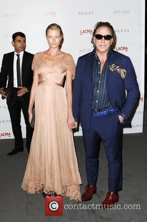 Mickey Rourke  LACMA's Art And Film Gala Honoring Clint Eastwood And John Baldessari at LACMA Los Angeles, California -...