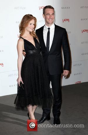 Kimberly Brook and James Van Der Beek  LACMA's Art And Film Gala Honoring Clint Eastwood And John Baldessari at...