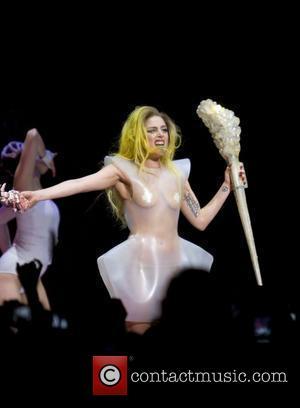 Lady Gaga and Semi Precious Weapons