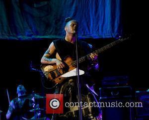 Semi Precious Weapons  performing at the Nassau Coliseum,  New York City, USA - 23.04.11