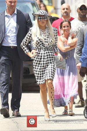Lady Gaga is seen exiting ABC Studios after her appearance on 'The View' New York City, USA - 01.08.11