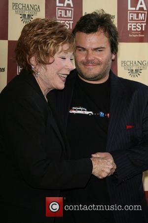 Shirley Maclaine and Jack Black
