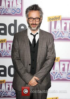 David Baddiel  2011 Loaded Laftas awards at the Cuckoo Club - Arrivals London, England - 01.02.11