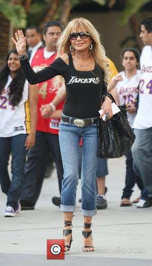 Dyan Cannon  Celebrities arriving at The Staples Center for Game 2 of the NBA Western Conference Semi-Finals between LA...