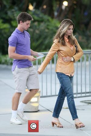 Maria Shriver, Staples Center