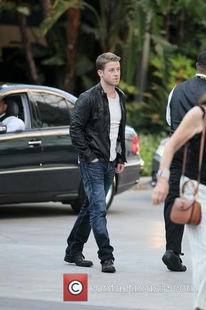 Ben McKenzie Celebrities arrive at The Staples Center for Game 1 of the NBA Western Conference Semi-Finals between LA Lakers...