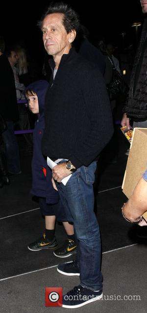 Brian Grazer arrives at the Staples Centre to watch the LA Lakers play Los Angeles, California - 28.01.11