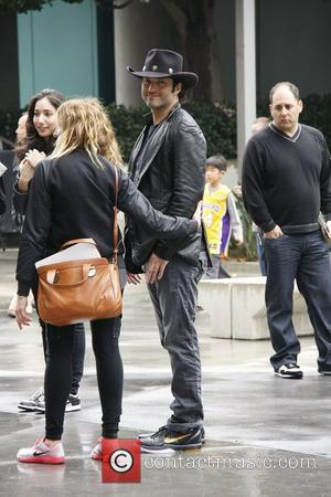 Robert Rodriguez,  arrives at the Staples Centre to watch the LA Lakers play. Los Angeles, California - 30.01.11