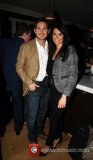 Frank Lampard and Christine Bleakley at a pub launch in west London London, England - 10.10.11