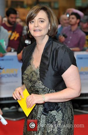 Cherie Blair Larry Crowne UK film premiere held at the Vue Westfield - Arrivals. London, England - 06.06.11