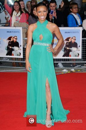 Melody Thornton Larry Crowne world-premiere held at the Vue Westfield - Arrivals. London, England- 06.06.11