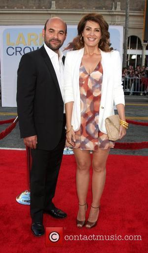 Ian Gomez and Nia Vardalos 'Larry Crowne' Los Anglees Premiere at Grauman's Chinese Theatre - Arrivals  Hollywood, California -...