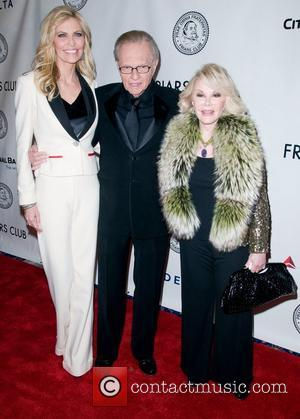Shawn King, Joan Rivers and Larry King