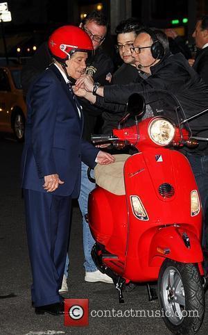 Regis Philbin and David Letterman