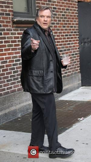 Meat Loaf,  at the 'The Late Show with David Letterman' in the Ed Sullivan Theater - Arrivals. New York...
