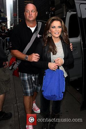 Martina McBride 'The Late Show with David Letterman' at the Ed Sullivan Theater - Arrivals  New York City, USA...