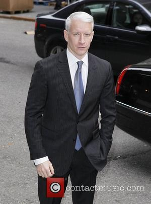 Anderson Cooper  'The Late Show with David Letterman' at the Ed Sullivan Theater - Arrivals  New York City,...