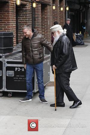 Leon Russell 'The Late Show with David Letterman' at the Ed Sullivan Theater - Arrivals  New York City, USA...