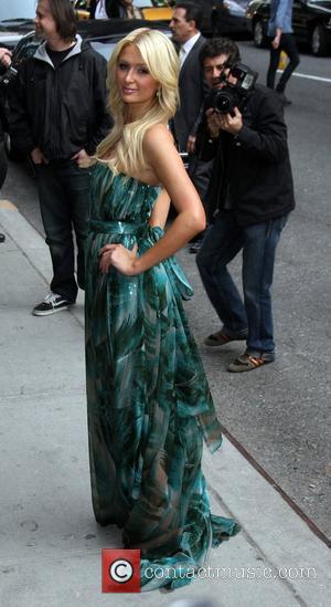 Paris Hilton and Ed Sullivan