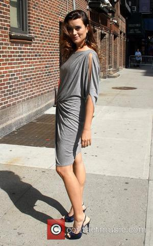 Cote de Pablo 'The Late Show with David Letterman' at the Ed Sullivan Theater - Arrivals  New York City,...