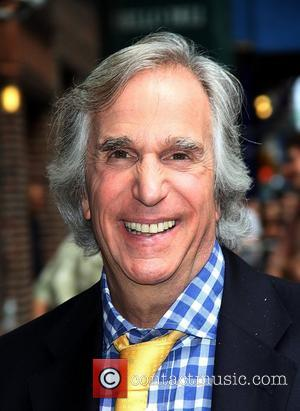 Henry Winkler 'The Late Show with David Letterman' at the Ed Sullivan Theater - Arrivals New York City, USA -...