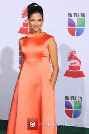 Natalia Jimenez and Grammy