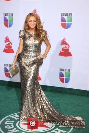 Paulina Rubio and Grammy