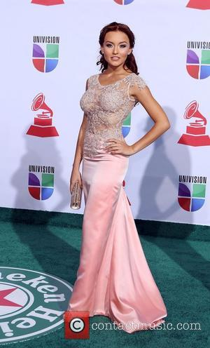 Angelique Boyer  2011 Latin Grammy's at Mandalay Bay Resort and Casino Las Vegas - Arrivals Las Vegas, Nevada -...