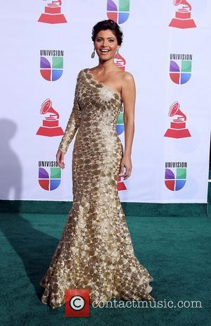 Chiquinquira Delgado  2011 Latin Grammy's at Mandalay Bay Resort and Casino Las Vegas - Arrivals Las Vegas, Nevada -...