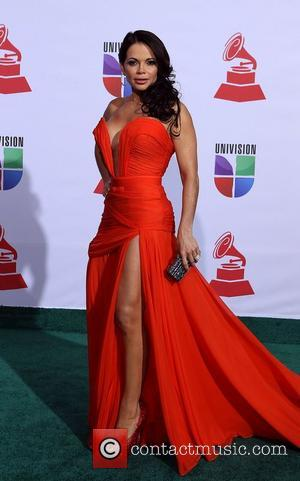 Julie Ferretti  2011 Latin Grammy's at Mandalay Bay Resort and Casino Las Vegas - Arrivals Las Vegas, Nevada -...