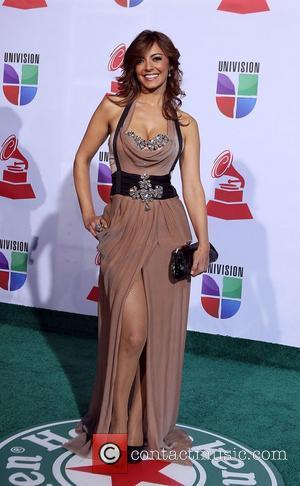 Merche  2011 Latin Grammy's at Mandalay Bay Resort and Casino Las Vegas - Arrivals Las Vegas, Nevada - 10.11.11