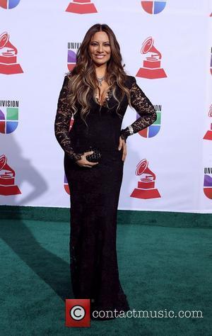 Myriam Hernandez  2011 Latin Grammy's at Mandalay Bay Resort and Casino Las Vegas - Arrivals Las Vegas, Nevada -...
