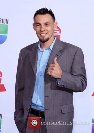 Robert Guerrero  2011 Latin Grammy's at Mandalay Bay Resort and Casino Las Vegas - Arrivals Las Vegas, Nevada -...