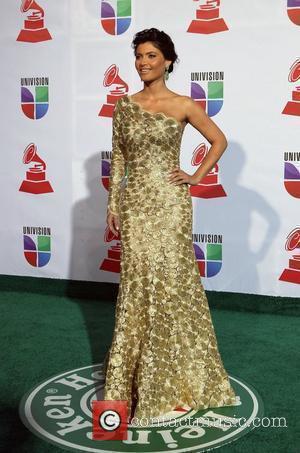 Chiquinquira Delgado 2011 Latin Grammy's at Mandalay Bay Resort and Casino - Arrivals Las Vegas, Nevada - 10.11.11